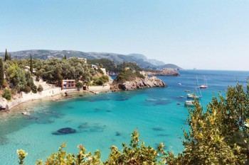 CORFU. Grecia estate 2020.